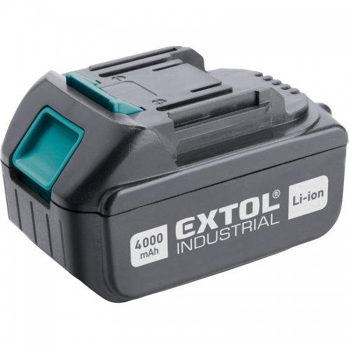 Akumulátor 18V 4,0 Ah EXTOL INDUSTRIAL 8791115B