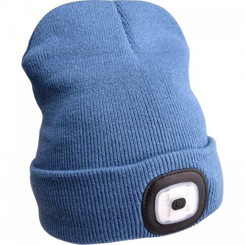 Čepice s čelovkou modrá EXTOL LIGHT 43191