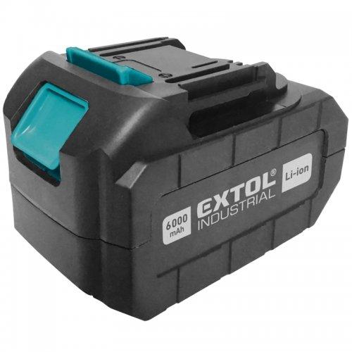 Akumulátor 18V 6,0 Ah EXTOL INDUSTRIAL 8791115B6